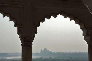 Agra - Fort Taj Mahal