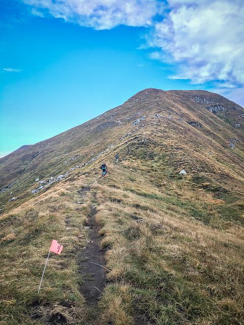 Up to the Mt. Gennaio Peak