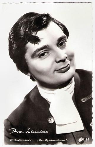 Peer Schmidt in Der Zigeunerbaron (1962)