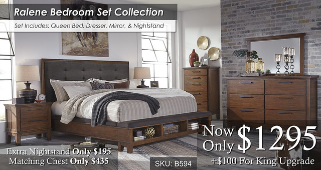 Ralene Bedroom Set B594-31-36-46-58-56-97-92-Q737