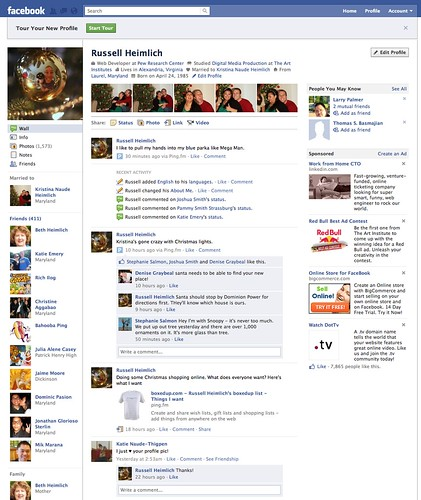 New Facebook Layout | by kingkool68
