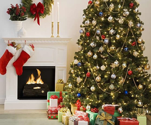 New inspiration: Retail Stores Christmas Tree Decorating Theme | by New Inspiration Home Design