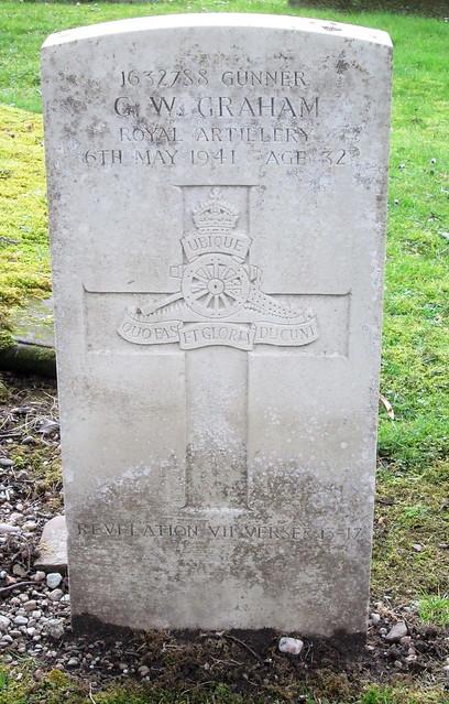 War Grave, Cardross