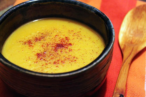 Pumpkin Coconut Soup | by Kim | Affairs of Living