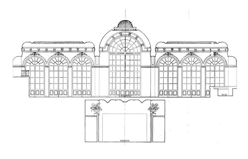 Plan trianon plan 1900 trianon vue en coupe salle de bal for Trianon plan salle