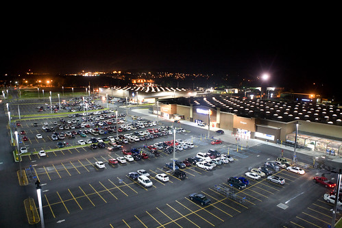 LED Parking lot lights at Walmart Puerto Rico | by Walmart Corporate