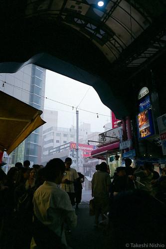 there comes heavy rain