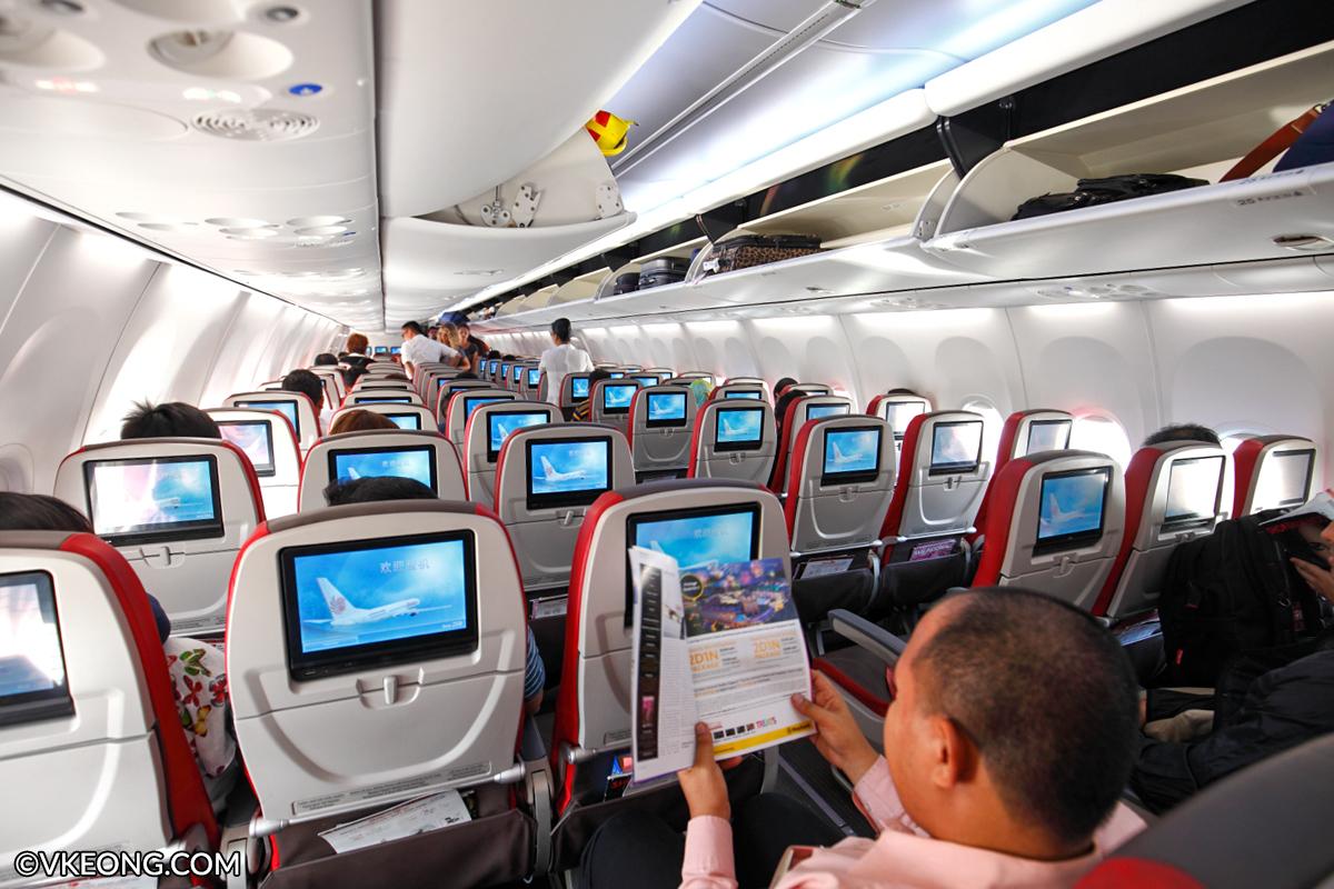 Malindo Air Plane Interior