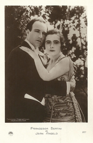 Francesca Bertini and Jean Angelo