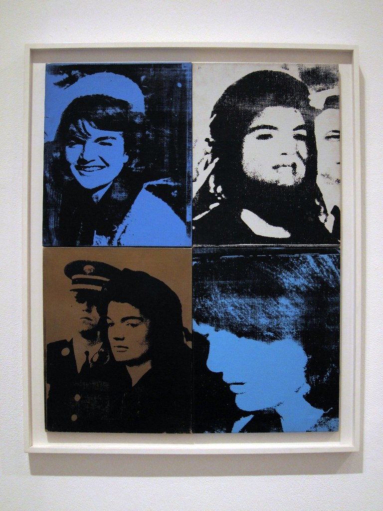 Andy Warhol - Jackie (Four Jackies)(Portraits of Mrs. Jacqueline Kennedy) 1964 - 2 of 2