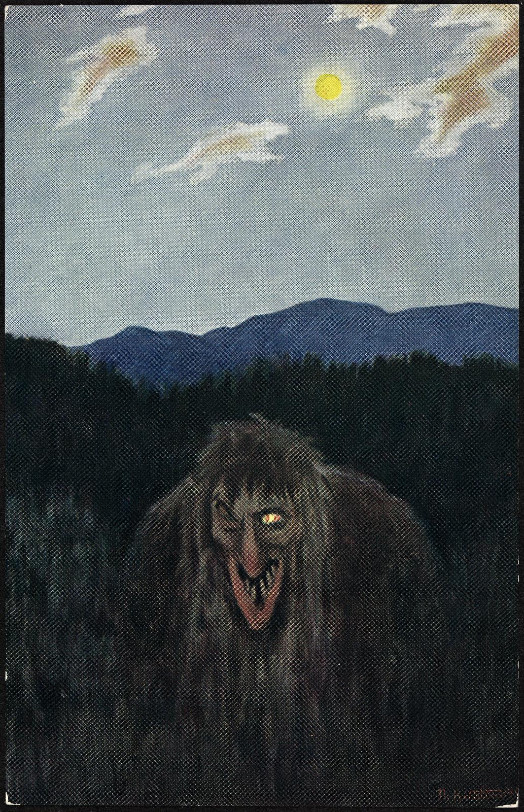 Theodor Kittelsen - Trolløye, 1891