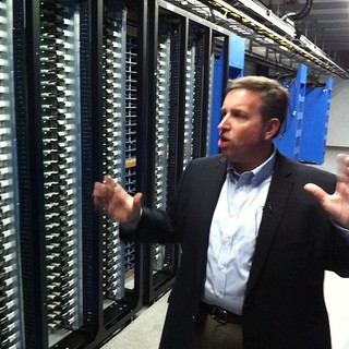 Tom Furlong gives us our first look at Open Compute servers at Facebook datacenter. | by Robert Scoble
