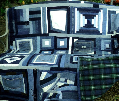 Blue Jean Milkweed Quilt | by milkweed quilts