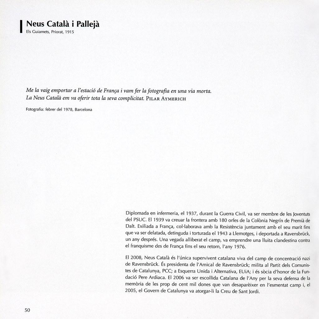 AYMERICH, Pilar. Resistents : la cultura com a defensa. / retrats de Pilar Aymerich ; textos de Josep Maria Solé i Sabaté, Joan de Sagarra, Pilar Aymerich; documentació i textos de Tate Cabré.