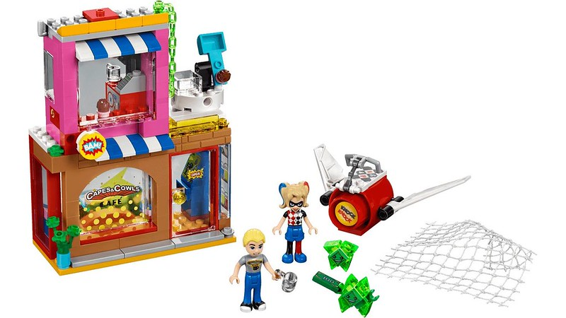 LEGO DC Super Hero Girls 41231 - Harley Quinn's Cafe Rescue