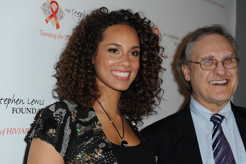 Alicia Keys and Stephen Lewis on Hope Rising! red carpet | by Stephen Lewis Foundation