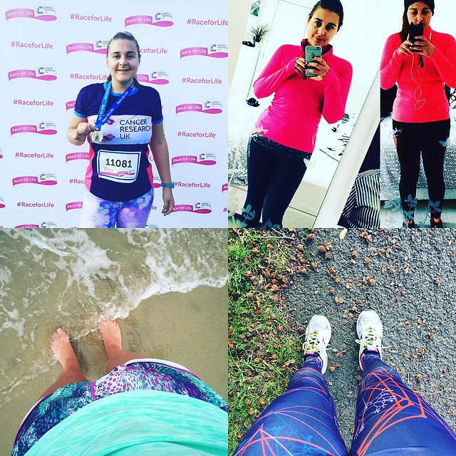 12 months ago to the day- 04-10-15 I ran a marathon. 9 months ago I realised how much being active had changed my body when I did this 1 year compare, 6 months ago I CHOSE to go out running for joy on the other side of the world and today, today I have my
