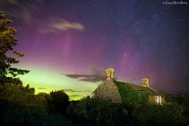 Garden Lights - Aurora Borealis, Embleton, Northumberland