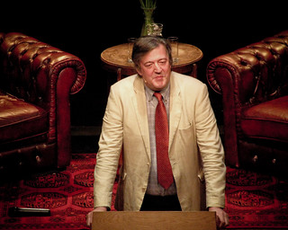 Stephen Fry @ BorderKitchen | by Marco Raaphorst
