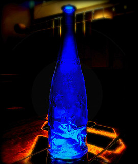 A Blue Bottle | by Pifou 2010 :memorial group