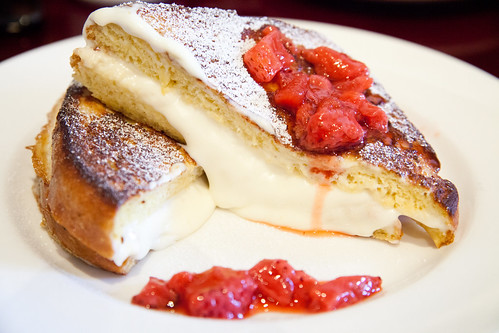 Cream Cheese-Stuffed French Toast | by johnnywangphotography