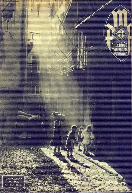 Mocidade Portuguesa Feminina, Nº 96, Janeiro 1947 - capa