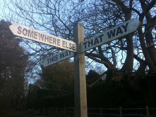 Any which way but loose... | by Ian Wilson