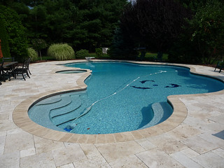 Luxury custom free form swimming pool design and hot tub for 3d pool design online free
