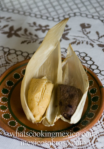 Pineapple and chocolate tamales | by arimou0