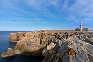 The barefaced cliffs of Punta Nati - Menorca | by B℮n