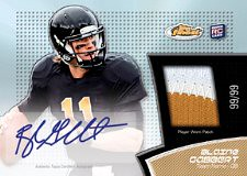2011 Topps Finest Football Jersey Patch Autograph RC Card | by Sports Card Radio