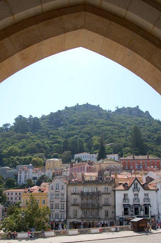 Lisbona, Sintra, Palacio National de Sintra (1)