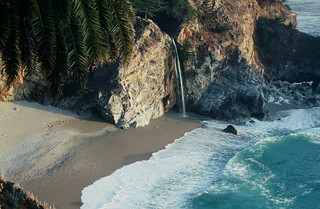 McWay Falls - Waterfall into the Pacific Ocean! | by Bindu&Sudhir