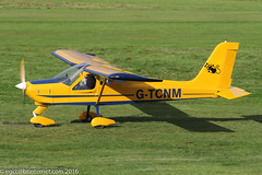 G-TCNM - 2002 build Tecnam P92-EA Echo, new Barton resident
