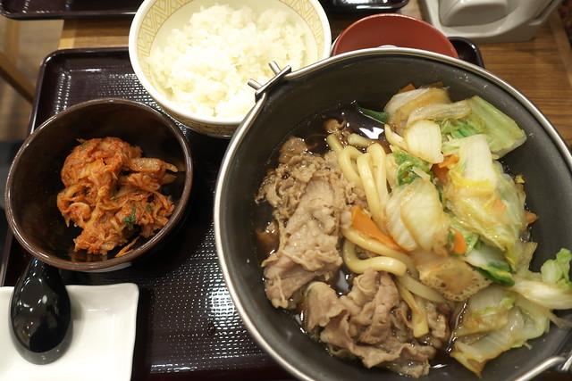 すき家 牛すき鍋定食_05