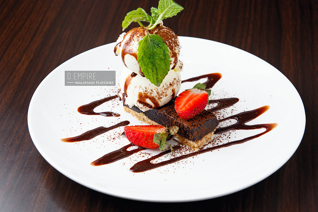 D Empire European Cuisine hazelnut truffle