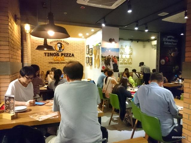 Tino's Pizza Café Tai Po interior