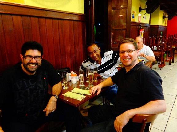 Kiko Freitas, Marçal e Marcelo Borba