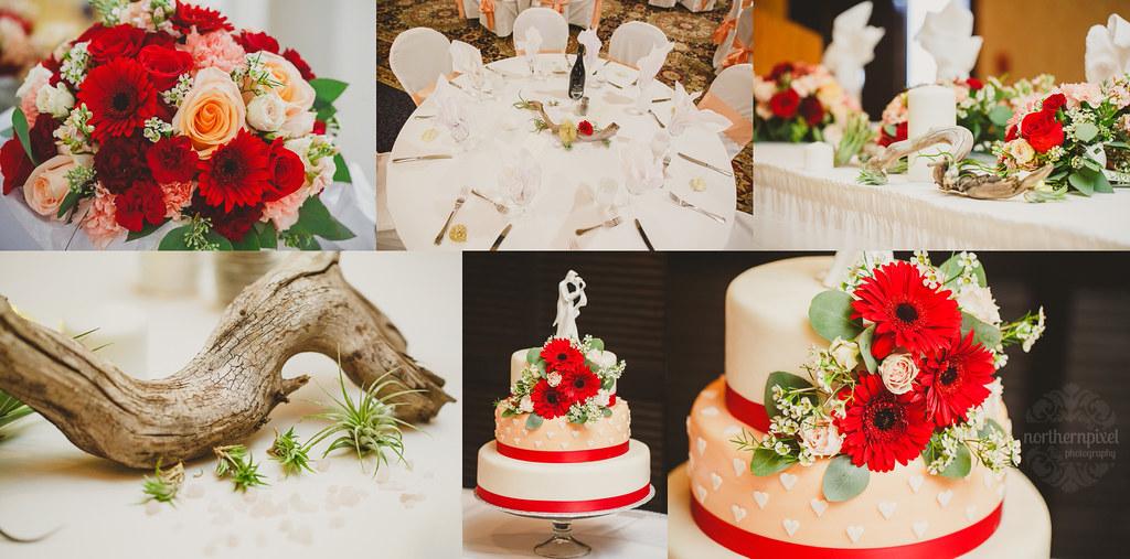 Wedding Reception Details - Coast Hotel
