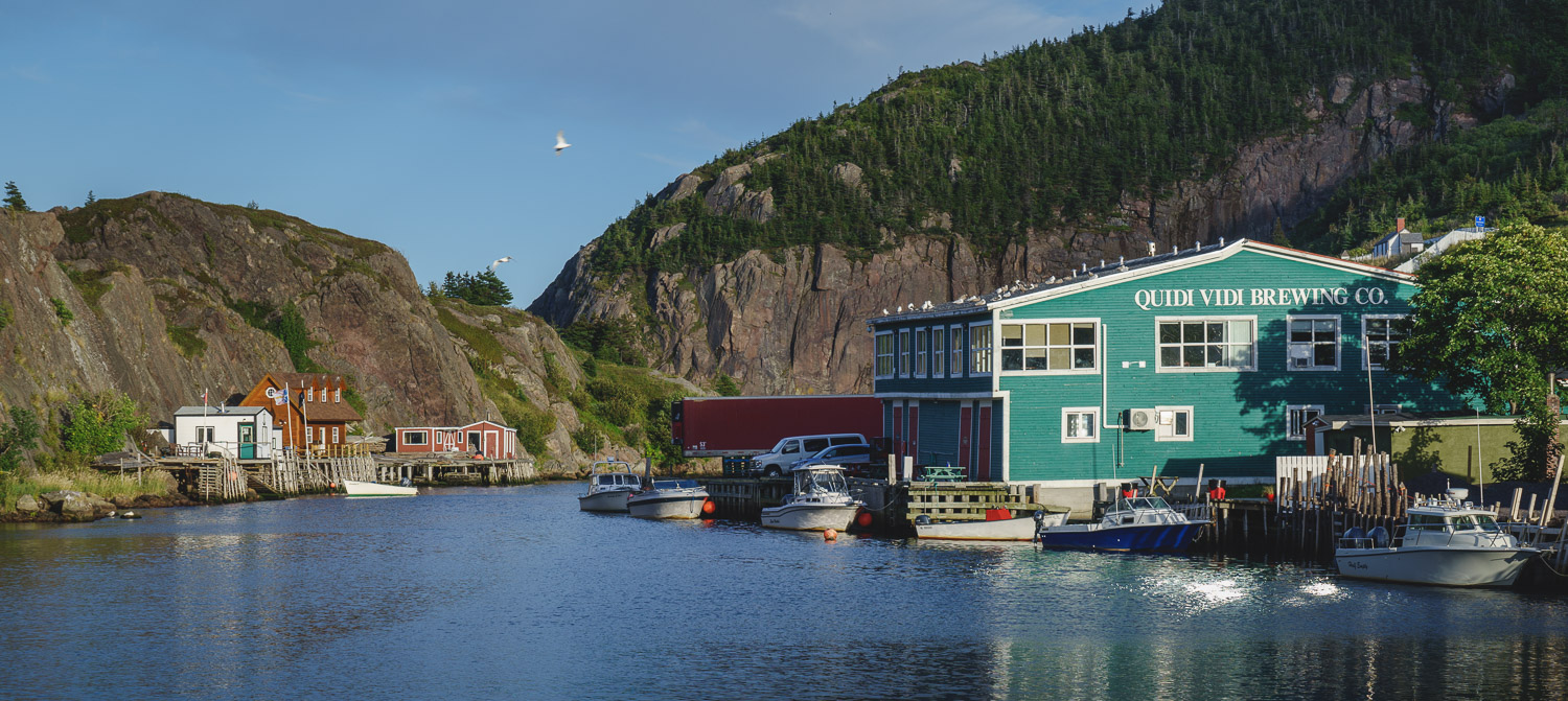 Quidi Vidi Village - Bay and Brewery