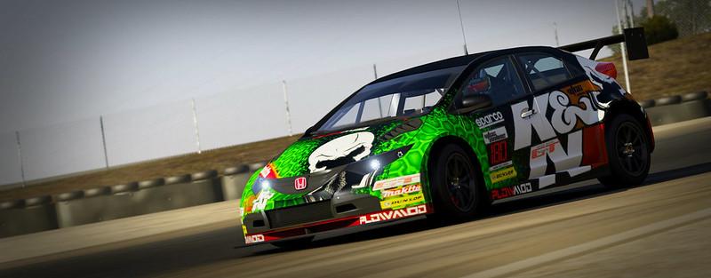 VTCC Spec Series 10 - #5 Zengo Motorsports Honda Civic WTCC 31248318922_3669f003a7_c