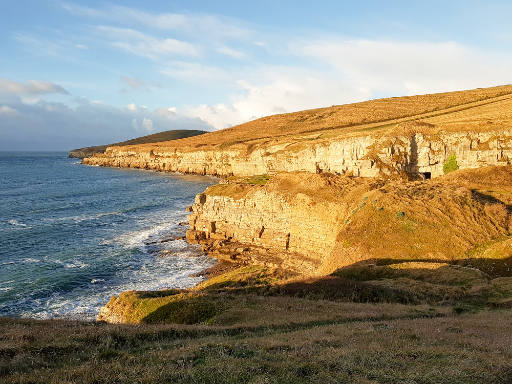 Hiking the Jurassic Coast - Worth Matravers to Swanage - The World in My Pocket 9