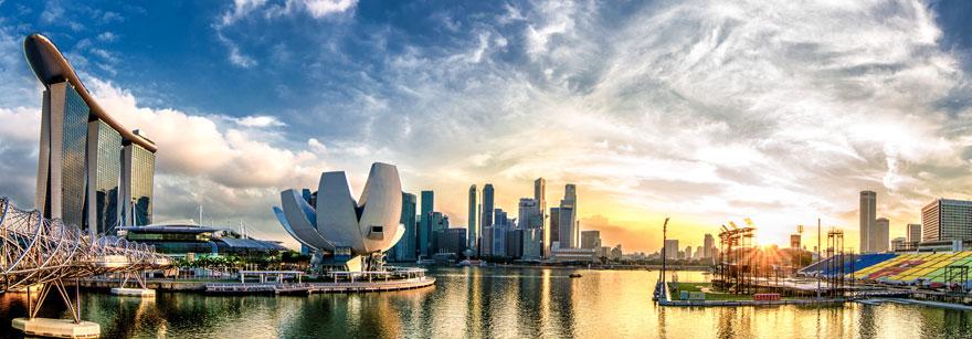 tempat wisata singapore landscape
