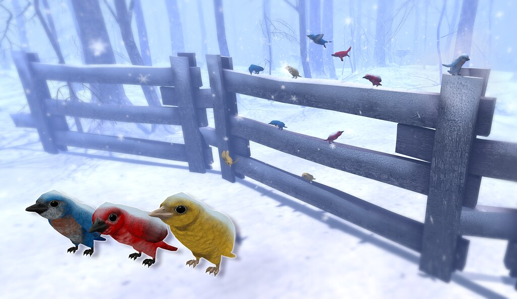 JIAN Snow Birds (FaMESHed Dec. '16)