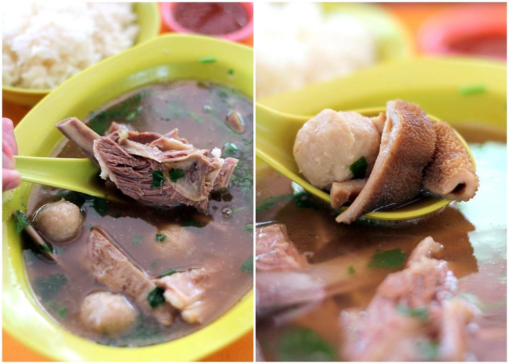 Bukit Merah View Food Centre: Chai Chuan Tou Yang Rou Tang