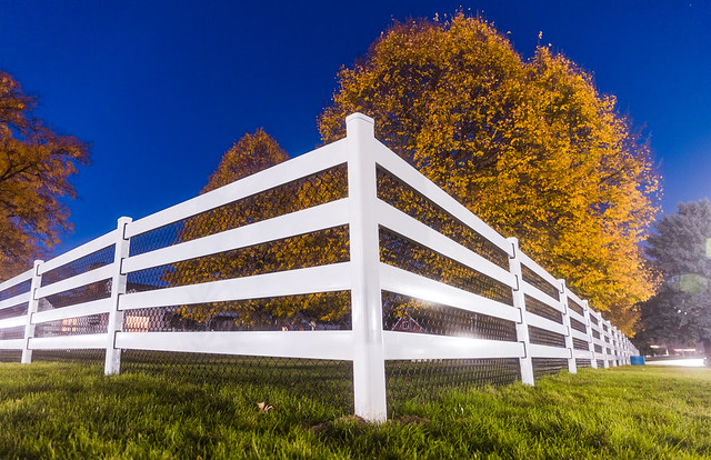 Twilight Fence