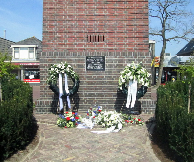 Surhuisterveen Remembrance Wreaths