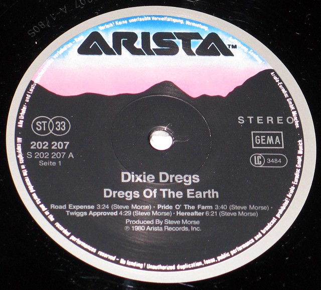 Dixie Dregs - Dregs of the Earth ex Kansas Deep Purple