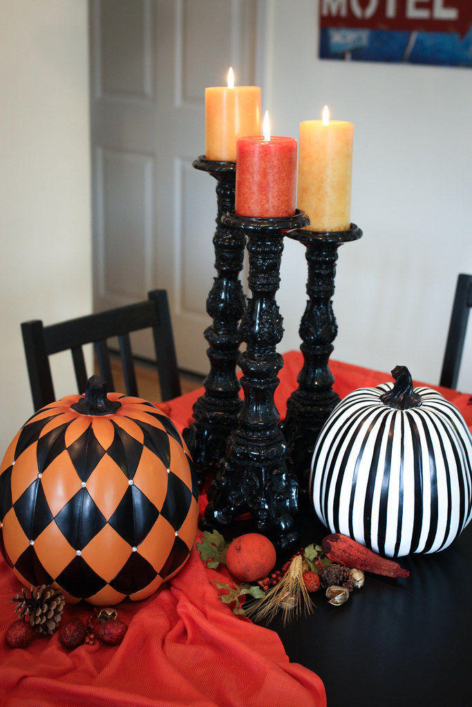 How to Transition your Halloween Decor to Thanksgiving | Fall Tablescape | Interior Decorating