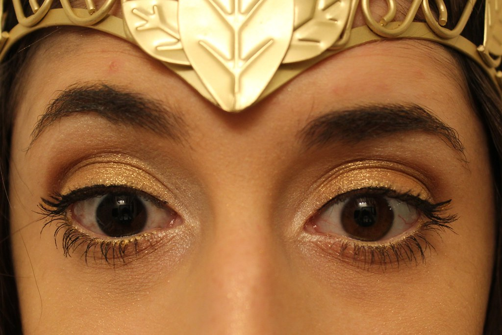 Greek goddess Halloween makeup